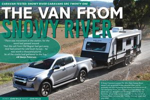 The van from Snowy River! SRC21 Review from Caravan and camping sales. - Snowy River Caravans - Media